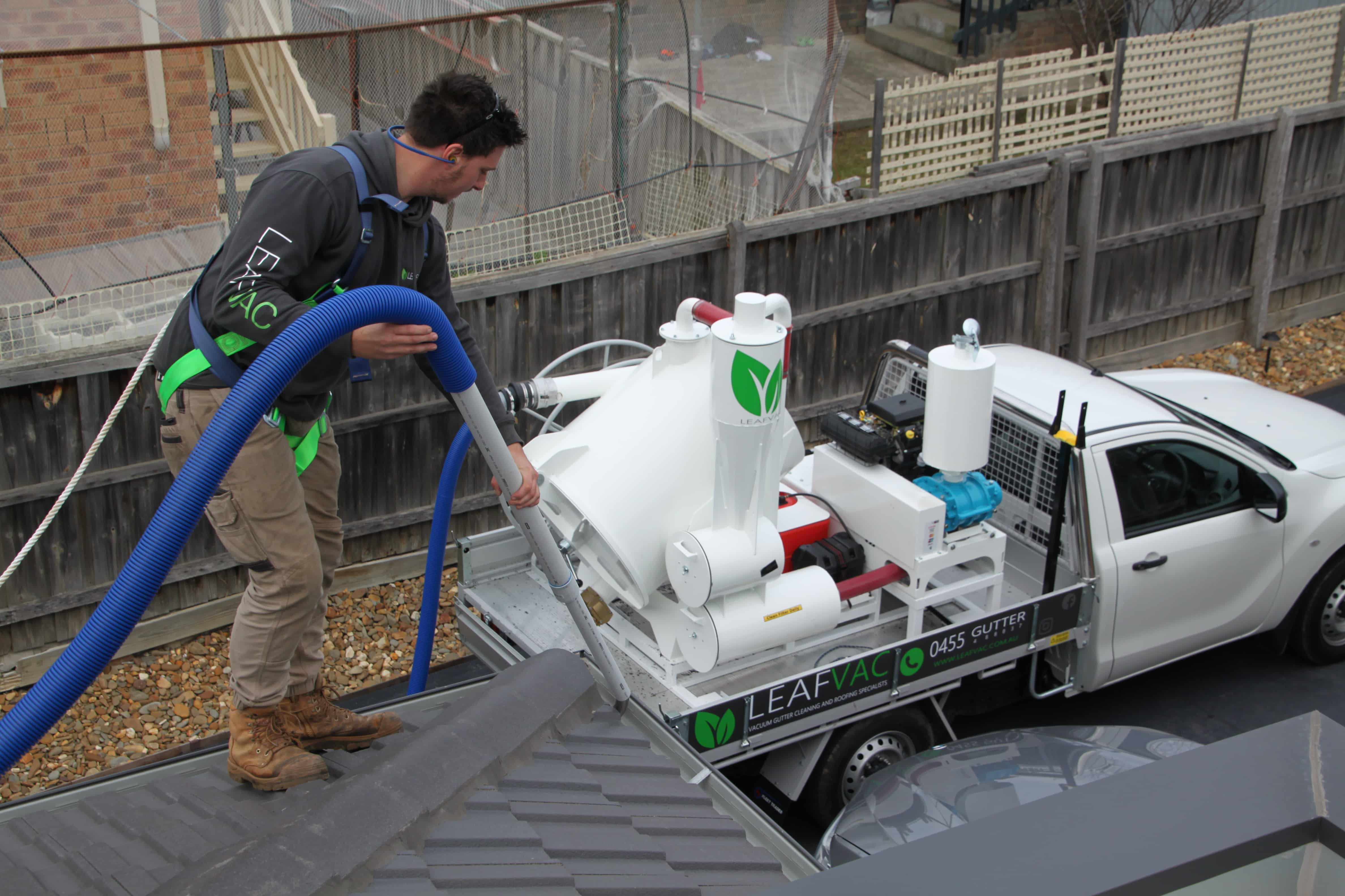 gutter vacuuming melbourne