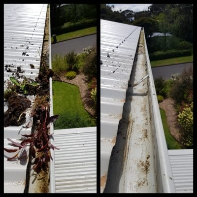 How to clean the gutter of your house?